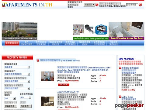 www.apartments.in.th